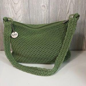 The Sak Bags Sak Crochet Green Bag Poshmark